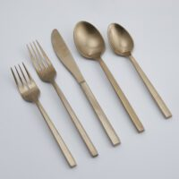 Gold-Brushed-Flatware